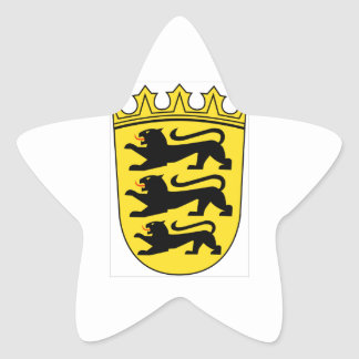 Baden-Württemberg (ドイツ)の紋章付き外衣 星シール