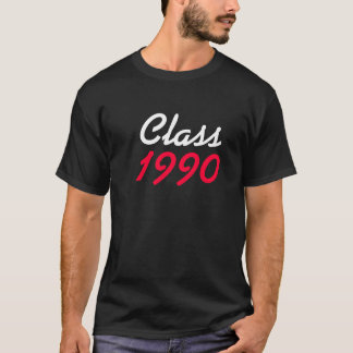 badtshirtのクラス1990年 tシャツ