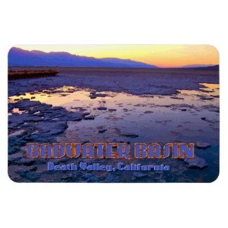 Badwater盆地の~デスヴァレー、カリフォルニア マグネット