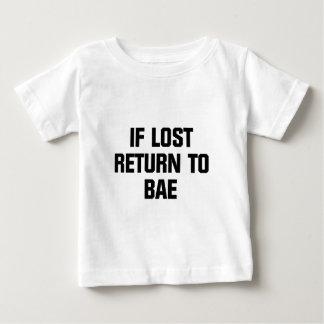 Baeに戻して下さい ベビーTシャツ