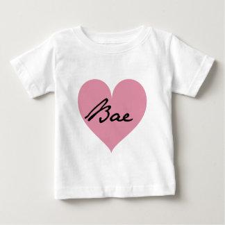 Baeのハート ベビーTシャツ