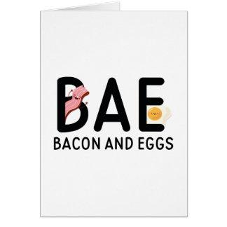 BAEのベーコン・エッグ カード