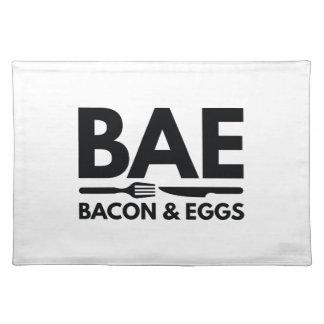 BAEのベーコン・エッグ ランチョンマット