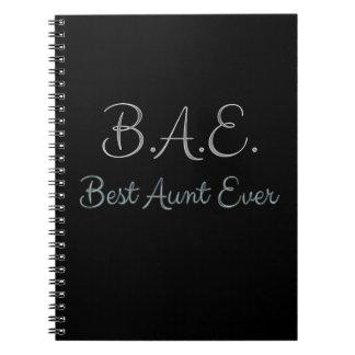 BAE最も最高のな叔母さん ノートブック