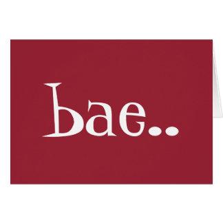 BAE私のバレンタインの挨拶状! カード