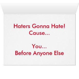 BAE -挨拶状を憎むことを行っている嫌悪症 カード