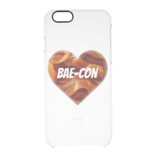 BAE-CON -どこでもベーコンの恋人のため クリアiPhone 6/6Sケース