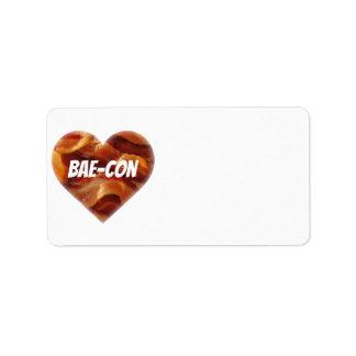 BAE-CON -どこでもベーコンの恋人のため ラベル