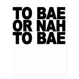 BAE.pngへのBAEにまたはNAH ポストカード