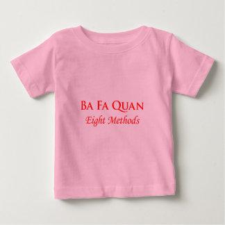 Bafaquan -赤 ベビーTシャツ