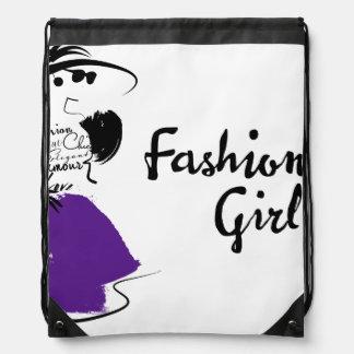 Bagファッションの女性 ナップサック