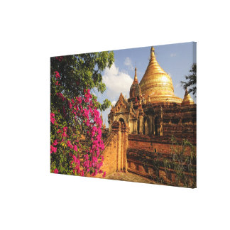 Bagan (異教徒)のDhamma Yazakaの塔、ミャンマー キャンバスプリント