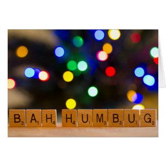 Bahのばかばかしいクリスマスの挨拶状 グリーティングカード