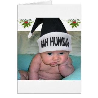 Bahのばかばかしいクリスマスの最低!! グリーティングカード