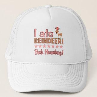 Bahのばかばかしいトナカイの帽子-色を選んで下さい キャップ