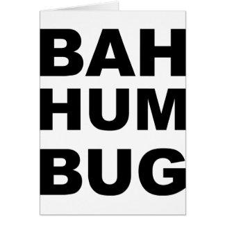 Bahのハム雑音の虫 カード