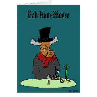 Bahのハム雑音アメリカヘラジカ、 カード