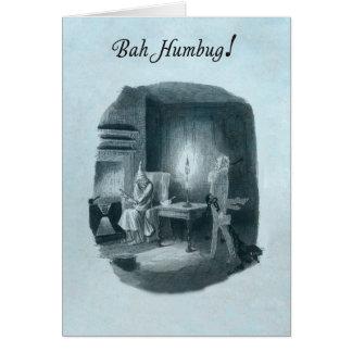 BahばかばかしいScroogeのクリスマスカード グリーティングカード