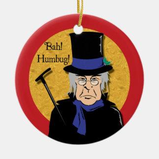 Bah! ばかばかしい! Scroogeのオーナメント セラミックオーナメント