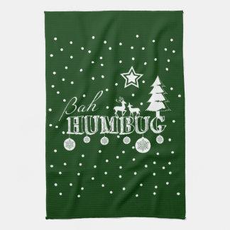 Bah Humbug, Christmas キッチンタオル