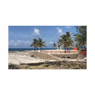 Bahamaのママ キャンバスプリント