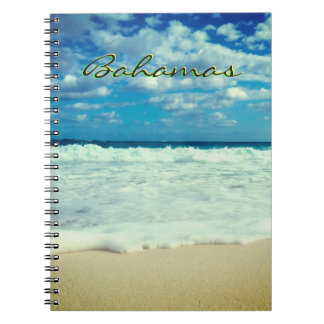 Bahamianのクリーミーなビーチ ノートブック