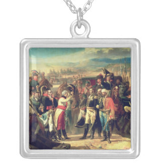 Bailenの降伏、1808年7月23日 シルバープレートネックレス