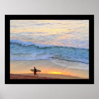 Bajaメキシコのサーフ ポスター