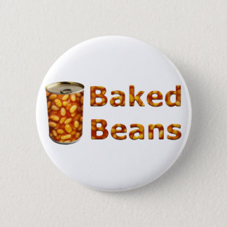 Baked Beans Can 5.7cm 丸型バッジ