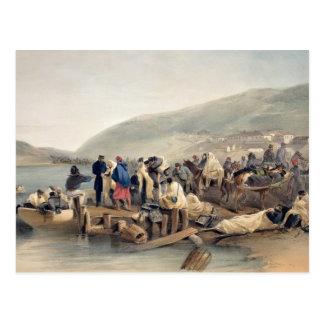 Balaklavaの病人の乗船 ポストカード