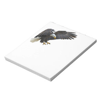 Bald eagle ノートパッド