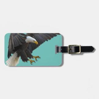 Bald eagle ラゲッジタグ