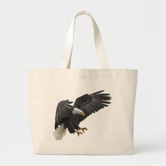 Bald eagle ラージトートバッグ
