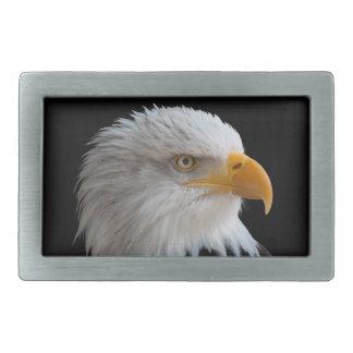 Bald eagle 長方形ベルトバックル