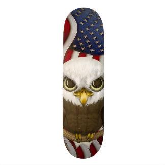 Baldwinかわいい白頭鷲 スケートボード