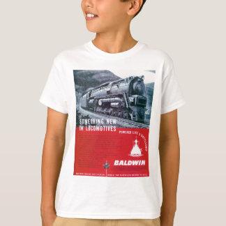 BaldwinのロコモーティブS-2蒸気機関車 Tシャツ