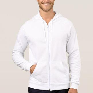 Baldwinの農場の白いフリースのジッパーのフード付きスウェットシャツ パーカ