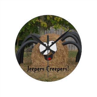 Baldwinの農場「s Jeepersのクリーパーの円形の時計 ラウンド壁時計