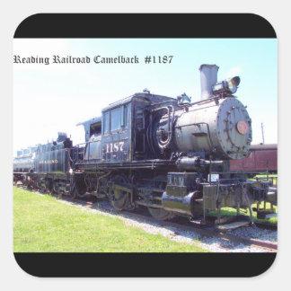 Baldwinは読書鉄道Camelback #1187を造りました スクエアシール