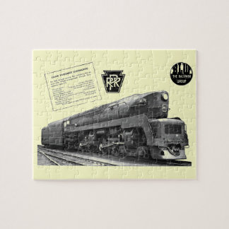 Baldwinペンシルバニアの鉄道T-1の蒸気機関車 ジグソーパズル