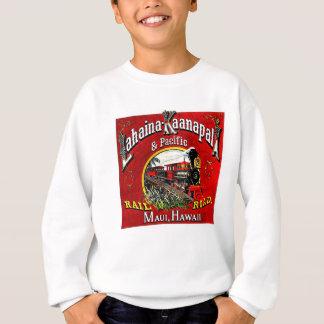Baldwin機関車が付いている砂糖きびの列車 スウェットシャツ