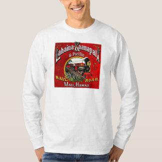 Baldwin機関車が付いている砂糖きびの列車 Tシャツ