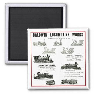 Baldwin機関車の仕事 マグネット