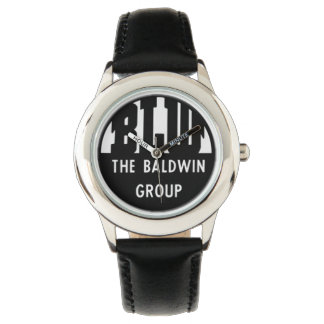 Baldwin機関車はロゴを働かせます 腕時計