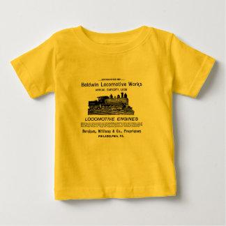 Baldwin機関車は1895年を働かせます ベビーTシャツ