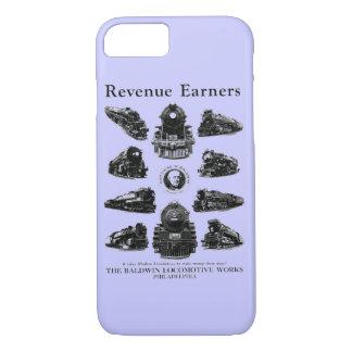 Baldwin機関車、収入かせぐ人 iPhone 8/7ケース