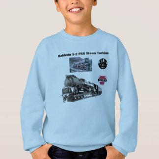 Baldwin機関車S-2 PRRの蒸気タービンスペシャル スウェットシャツ