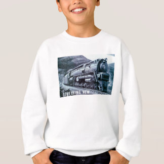Baldwin機関車S-2 PRRの蒸気タービン スウェットシャツ