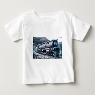 Baldwin機関車S-2 PRRの蒸気タービン ベビーTシャツ