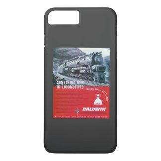 Baldwin機関車S-2 PRRの蒸気タービン iPhone 8 Plus/7 Plusケース